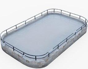 Ice Rink 3D asset