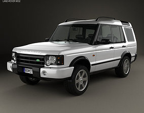 3D Land Rover Discovery 2003