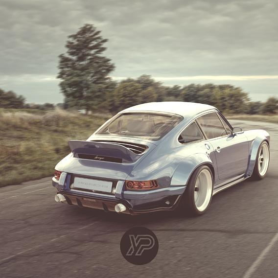 Retro Porsche 911 964 by Singer