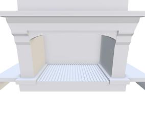 3D living Fireplace