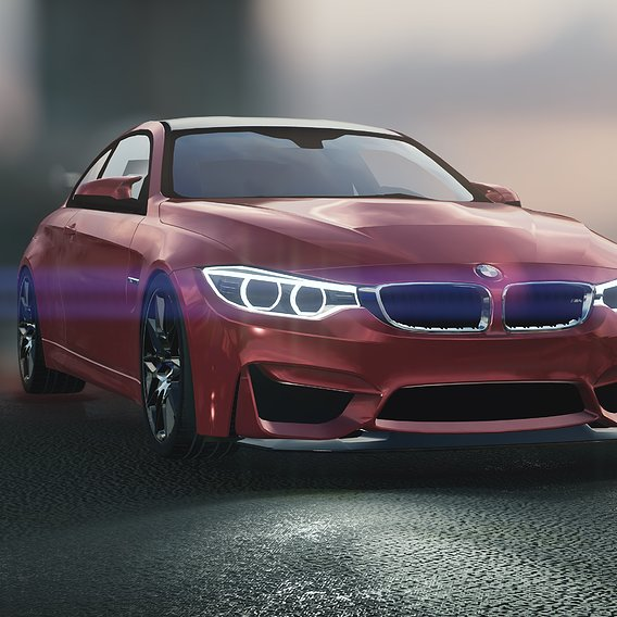 My New modeling BMW M4