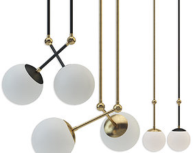 3D Tango lighting collection by Paul Matter