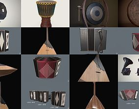Musical instruments 3D
