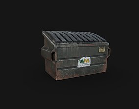 3D model Dumpster garbage