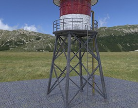 WATER TANK 3D model game-ready