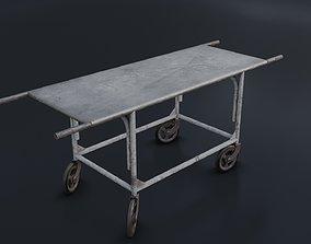 3D model Old Dirty Body Trolley