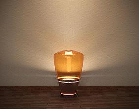 Floor lamp 3D model light power