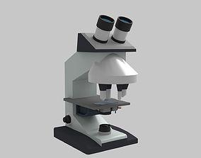 3D model Compound Microscope