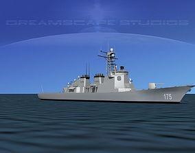 3D model DDG175 Kongo Destroyer Myoko