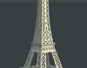 traditional EIFFEL Tower 3D model