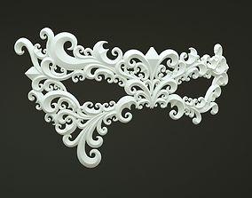 fashion-accessory 3D printable model Carnival Mask