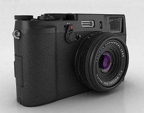 Fujifilm FinePix X100S Black 3D model