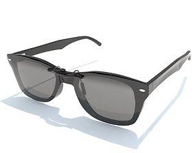 3D model Sunglasses Wayfarer Ray-Ban