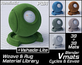 VMATS Weave and Rug Material Library for Cycles and 3D