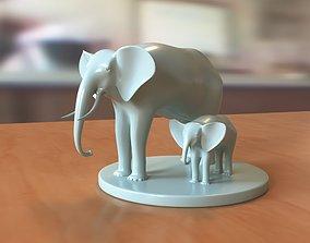 art Elephant 3D print model
