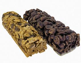 Cereal Bars kit - Chocolate and Muesli 3D
