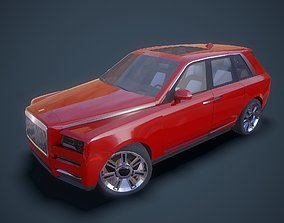Gameready Cullinan 3D asset rigged