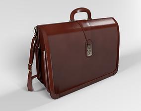 3D model Executive Accordion Briefcase