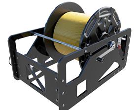 Marine Tether Reel 3D