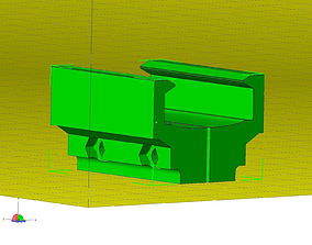 rail mount for Smith and Wesson 3D printable model