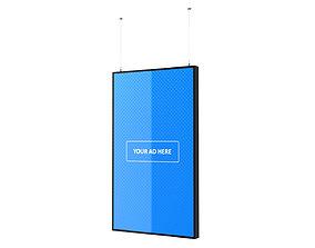 3D model video-device Digital Panel Vertical 55 Inch