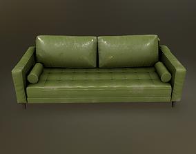 Sofa with 3 textures set 3D asset