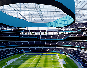 3D model SoFi Stadium - Los Angeles - USA
