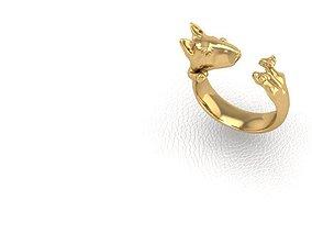 Ring dog 3D print model