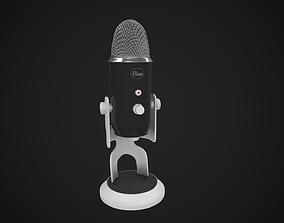 3D BlueYeti microphone