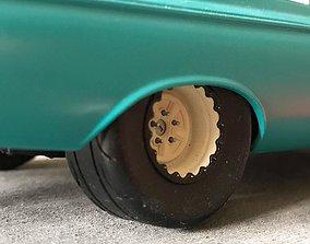 MT 305 Drag Radials 28x15 rear tires 3D printable model