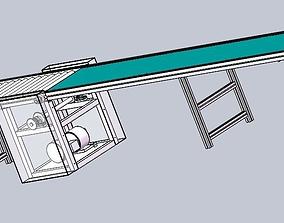 3D Line roller conveyor