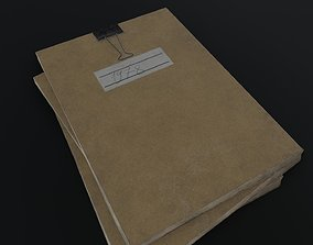 3D model Old Dirty Notes