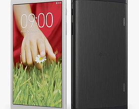 3D asset game-ready LG G Pad V500 tablet