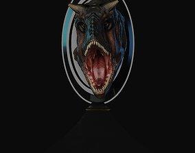 Carnotaurus Bust for 3dprint