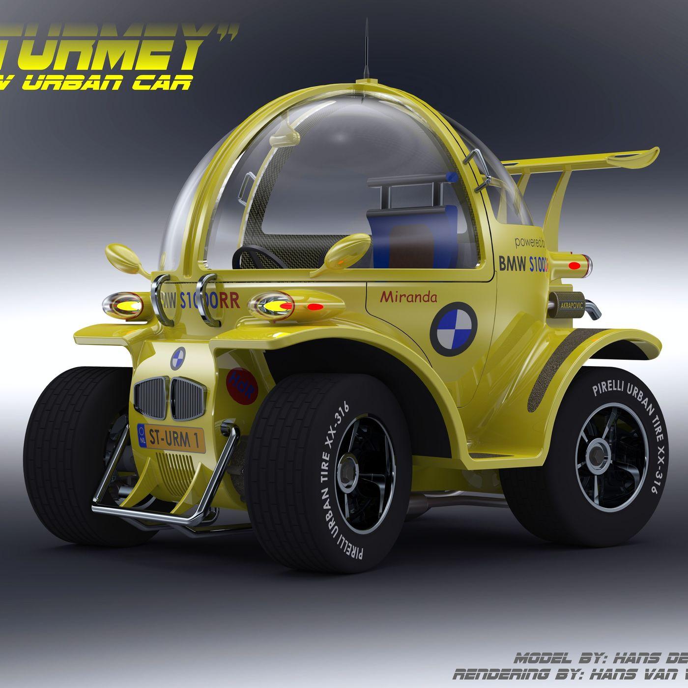 """STURMEY"" Urban Car"