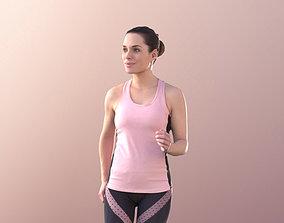 Juliette 10820 - Running Girl 3D asset low-poly