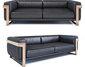 3D model Natuzzi Dalton sofa