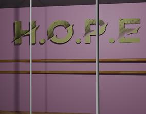 Dance Studio 3D asset VR / AR ready