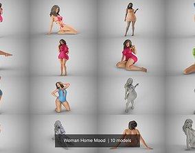 3D girl Woman Home Mood