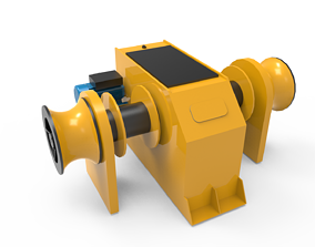vehicle Winch Anchor 3D