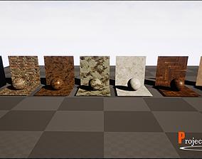 UE4-MaterialsPack-V001 3D model