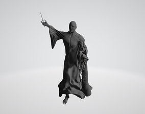 Voldemort and Nagini 3D printable model