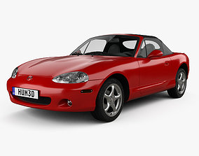3D model Mazda MX-5 1998