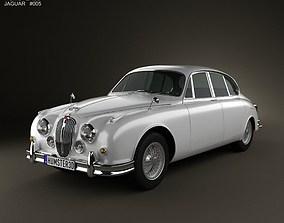3D Jaguar Mark 2 1959-1967