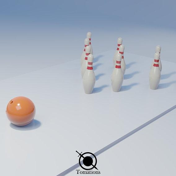 Blender Bowling