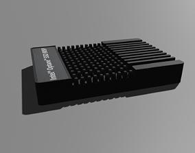Intel Optane SSD - Hard disk 3D model