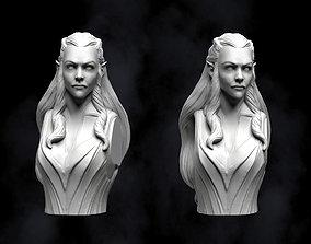 Tauriel Fan Art Bust 3D print model