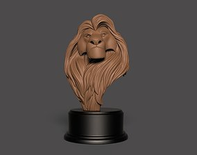 Mufasa - The Lion King bust - 3d print bust