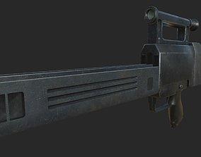 3D model Heckler-Koch G11 K2 version
