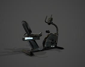 Fitness VR Bike XTERRA SB250 3D model